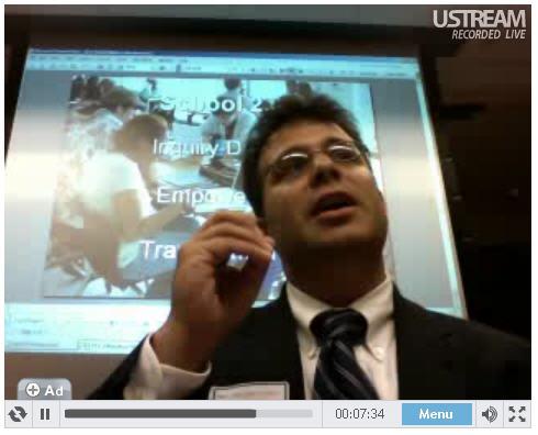 Chris Lehmann speaks to the FCC